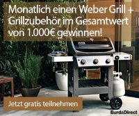 weber grill gewinnspiel. Black Bedroom Furniture Sets. Home Design Ideas